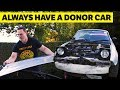 Why Car Guys Always Need A Donor Car [ft. ChrisFix]
