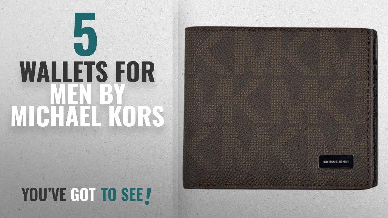 369d1c383876 Top 10 Michael Kors Wallets For Men [2018]: Michael Kors Jet Set ...