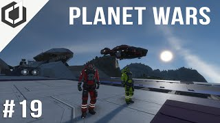 Space Engineers | PLANET WARS - EP 19 | Salvage Mission!