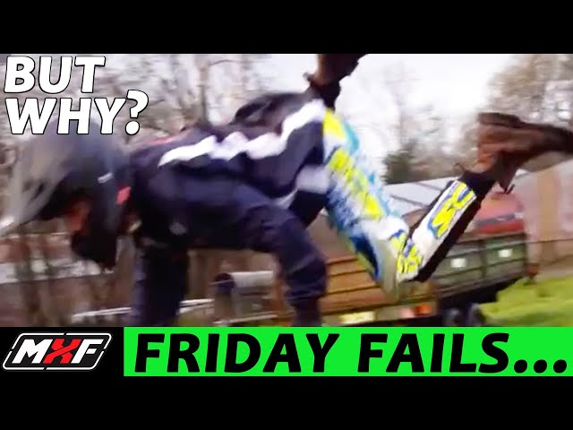Friday Fails... But Why? #19 • Broken Leg, Big Pit Bike Mistake & More!!!