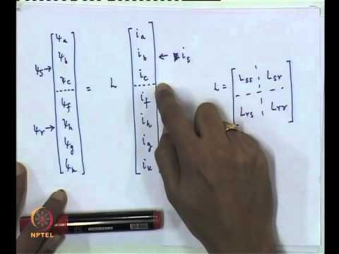 Mod-01 Lec-11  Modeling of Synchronous Machines
