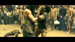 Tony Jaa is just a tad bit tipsy (Ong Bak 2 Drunken Style Fight Scene)
