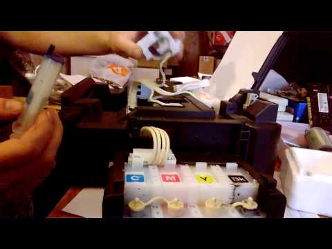 Рeмонт принтера Epson L210. Не печатает