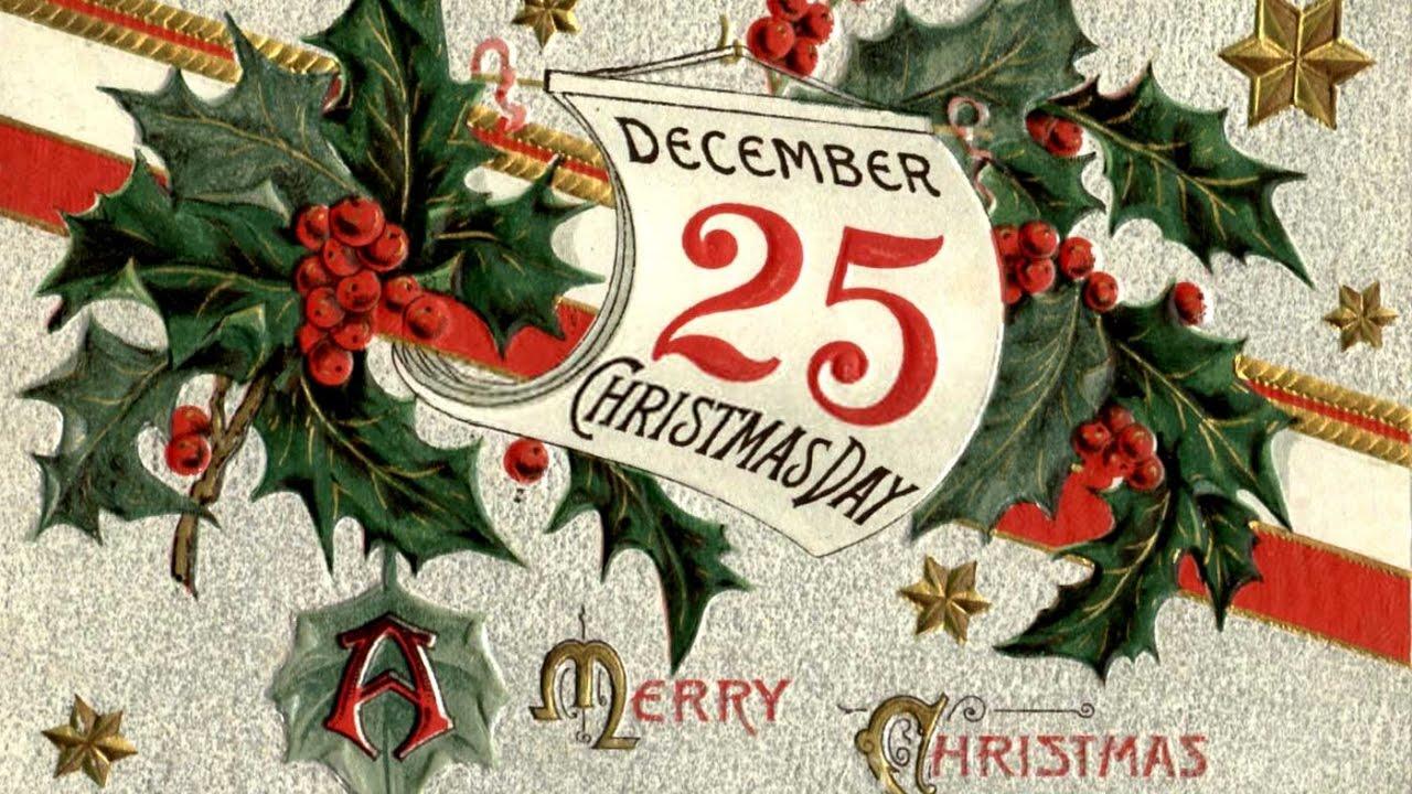9 декабря день рождественской открытки, картинки для