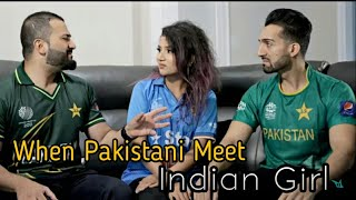 Pakistani Guys Meet An Indian Girl | Sham Idrees | Froggy