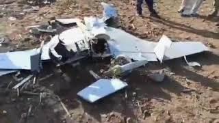 Remnants of Azerbaijani IAI Harop kamikaze drone in Iran