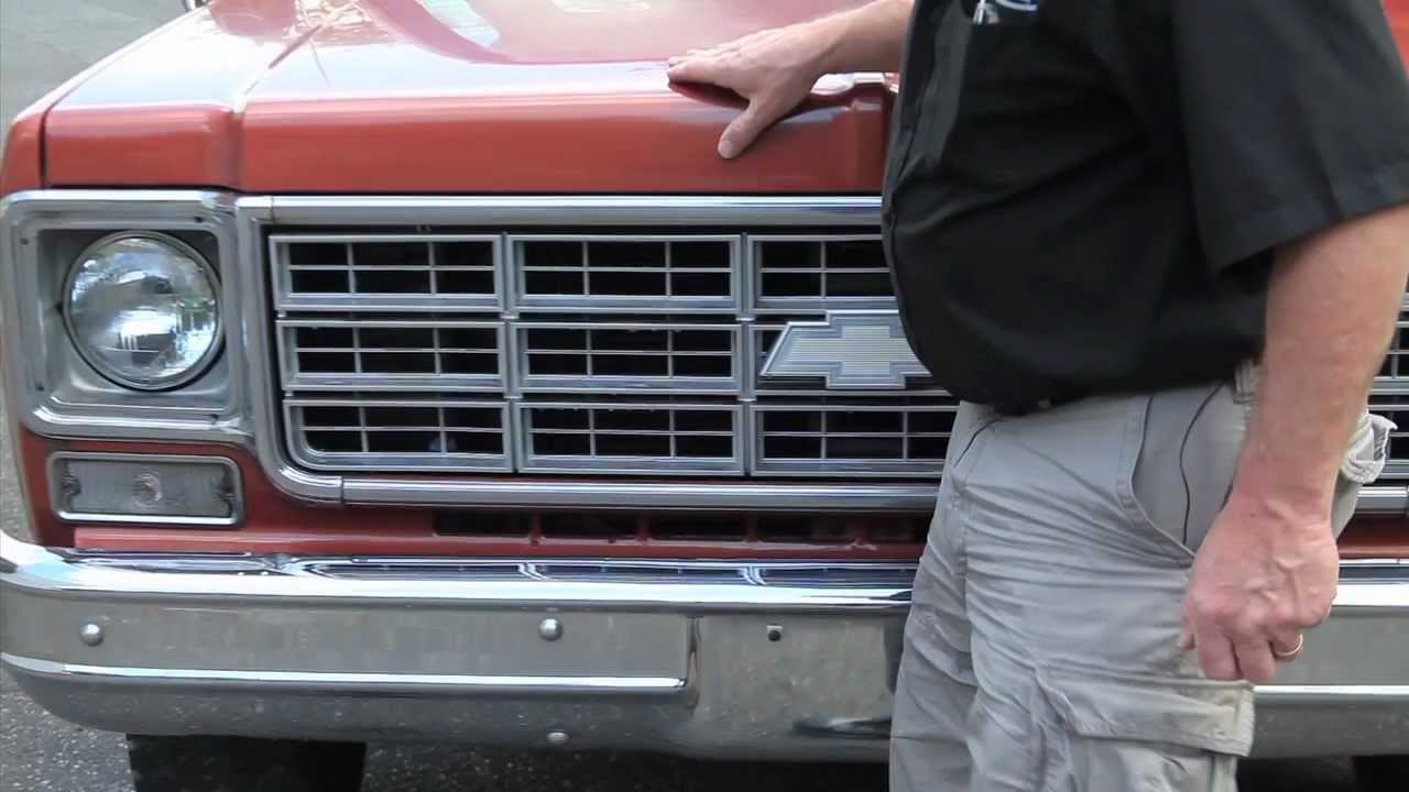 Truck 1977 chevy truck hood 1977 Bronze Chevy PU Sold Drager's Intgernational Classic Sales ...