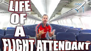 THE LIFE OF A FLIGHT ATTENDANT Ep.4 | TINDER ON LAYOVERS?!