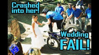 CRASHED INTO MY BRIDE WITH A MOTORCYCLE DURING THE CEREMONY! PSF 9