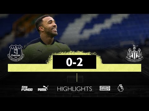 Everton 0 Newcastle United 2   Premier League Highlights