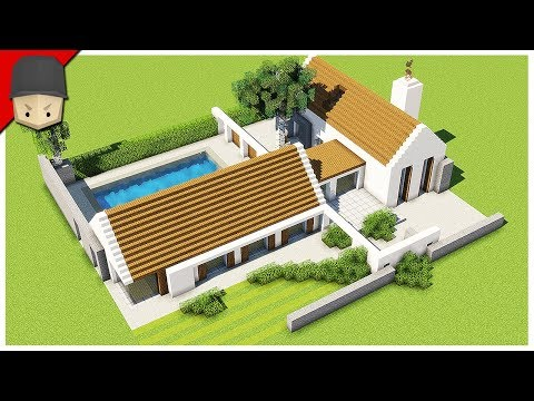 How To Build A Modern Barn Conversion House In Minecraft (Minecraft House Tutorial)