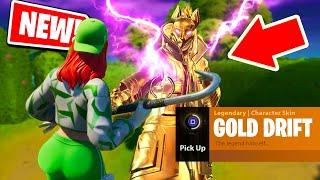 How to get the GOLDEN DRIFT Skin in Fortnite: Battle Royale *NEW* Easter egg