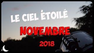 Le ciel étoilé - novembre 2018