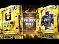 BRAND NEW 98 OVERALL ULTIMATE LEGEND PULL! MADDEN 19 ULTIMATE TEAM PACK OPENING