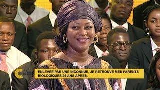 """Bongba Charlène: """"Enlevée par une inconnue, je retrouve mes parents biologiques 26 ans après"""""""