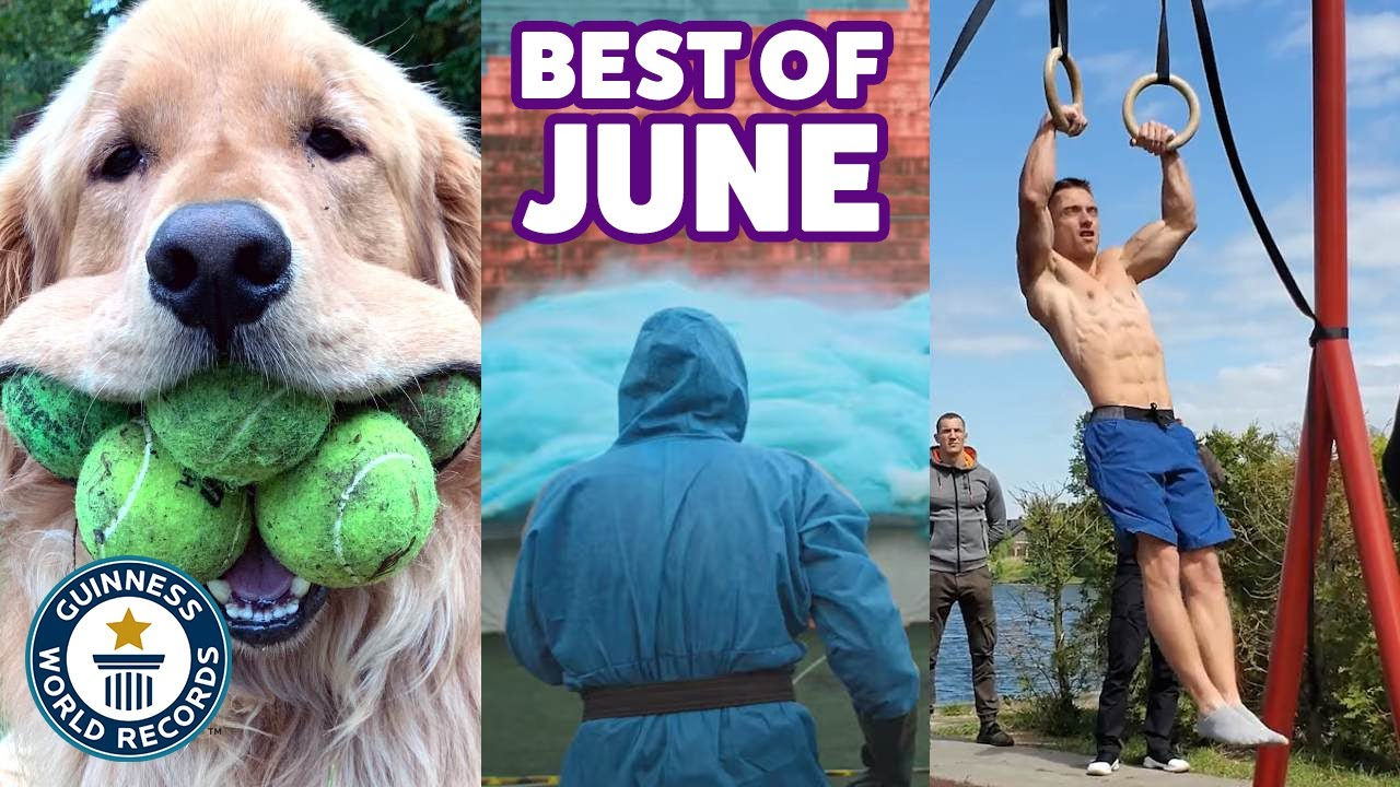 Best of June 2020 - Guinness World Records
