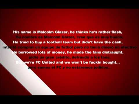 FC United of Manchester - His name is Malcolm Glazer