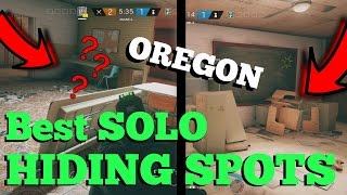 The SOLO Hiding Spots That WORK On OREGON - Rainbow Six Siege Velvet Shell