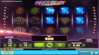 Starburst New Pokie Machine  - Free Feature - Big Win - Great Video Slots
