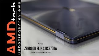 asus ZenBook Flip S UX370UA 2 in 1 REVIEW Super thin & powerful convertible