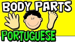 Baixar The Body Parts in Portuguese for Kids | Brazilian Portuguese | Speak Portuguese | Partes do Corpo