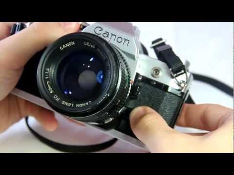 Canon AE 1 Inceleme - HD