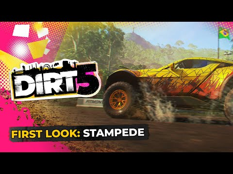 DIRT 5 | Gameplay First Look | Stampede Time Trial | Xbox Series X, PS5