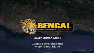 Lower Mission Creek - Restoration, Flood Control & Bridge Replacement Project