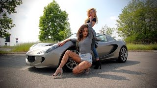 Fast Driving Girls - Fede and Miki, stealing the Lotus Elise, …