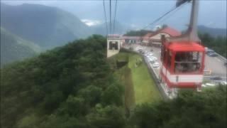 【夏旅行】 明智平ロープウェイに乗ってみた ropeway  nikko japan