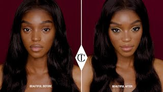 How To Get The Rebel Golden Green Makeup Look - 10 Iconic Looks | Charlotte Tilbury