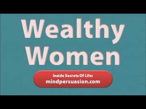 Attract Wealthy Women - Get Rich Girls To Seduce You And Pay For You