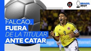 Colombia vs. Catar: Zapata y Roger Martínez, titulares; Falcao no va