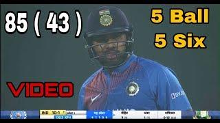 Rohit Sharma 85 ( 43 )   India vs Bangladesh 2nd t20 highlights 2019   ind vs ban 2nd t20 2019