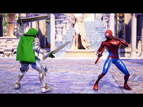 Soul Calibur 6 custom characters include Bowsette, Thanos