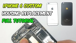 iPhone 6 Complete Tear Down and Rebuild with Custom Housing