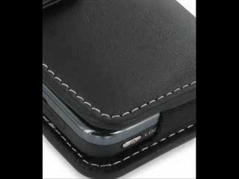 PDair Leather Case for Samsung Instinct SPH-M800 Horizontal