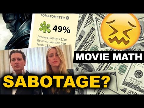 Box Office - X-Men Apocalypse vs Rotten Tomatoes, Alice Through the Looking Glass vs Amber Heard