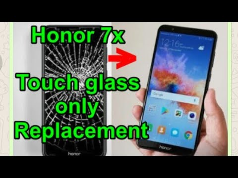 Honor 7x Touch glass only Replacement