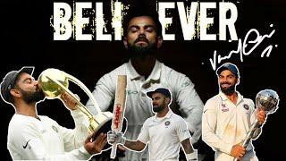 Virat Kohli Believer | WORLD TEST CHAMPIONSHIP BATTlE | No.1 Test Ranking |
