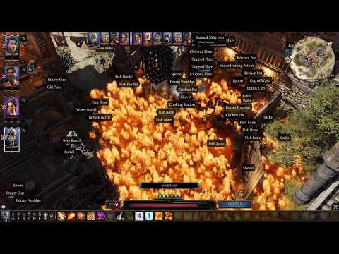 Divinity Original Sin 2: Most Epic Way To Defeat Camp Boss Griff