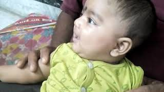 4 Month  baby DHONI
