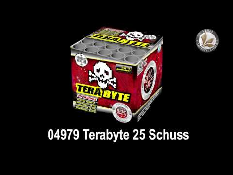 Lesli Silvesterzauber Terabyte Feuerwerk Neuheit 2017