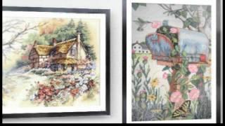 Вышивка крестом Izsuvumi Dimensions Gallery / Dina Stitch