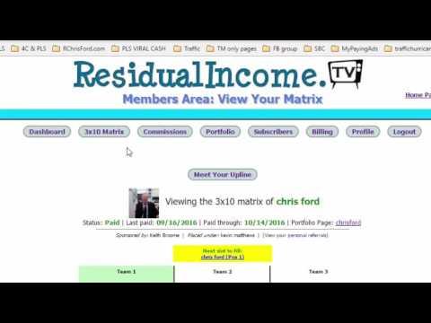Why I Use Residual Income TV II