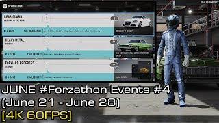 Forza Motorsport 7 - June #Forzathon Events #4 (June 21 - June 28) [4K 60FPS]