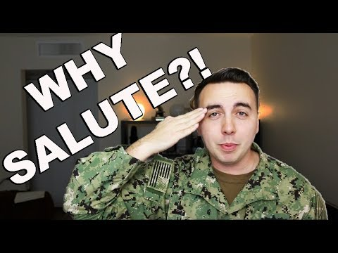 Why do movie military salutes suck