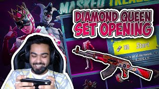 DIAMOND QUEEN SET OPENING || AKM SKIN IS LOVE || PUBG MOBILE ||