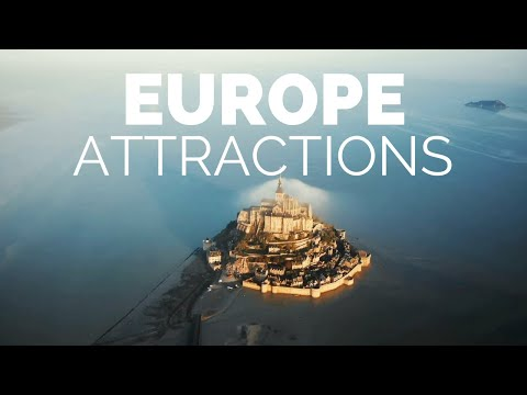 25 Top Tourist Attractions in Europe - Travel Video