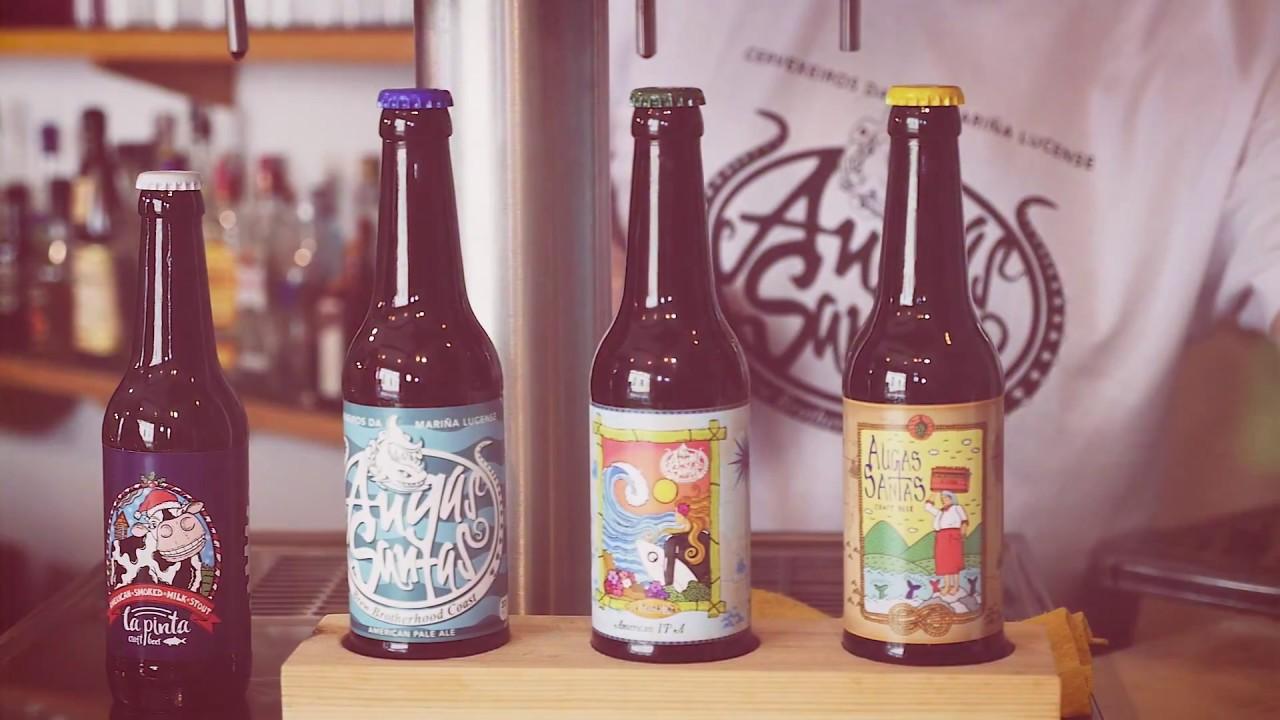 Resultado de imagen de Cerveza Augas Santas